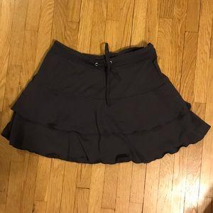 Athleta charcoal gray skirt size XXS